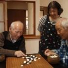 囲碁で楽しいひと時